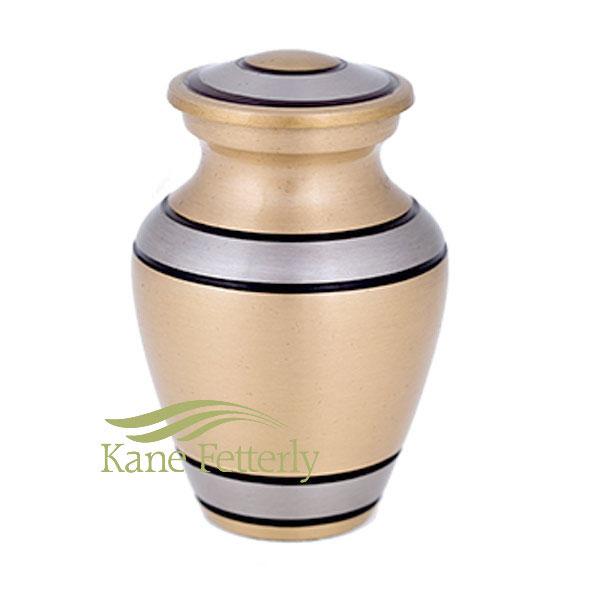 U86811K Brass miniature urn