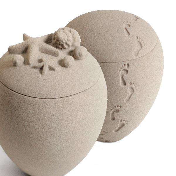 Urnes en sable