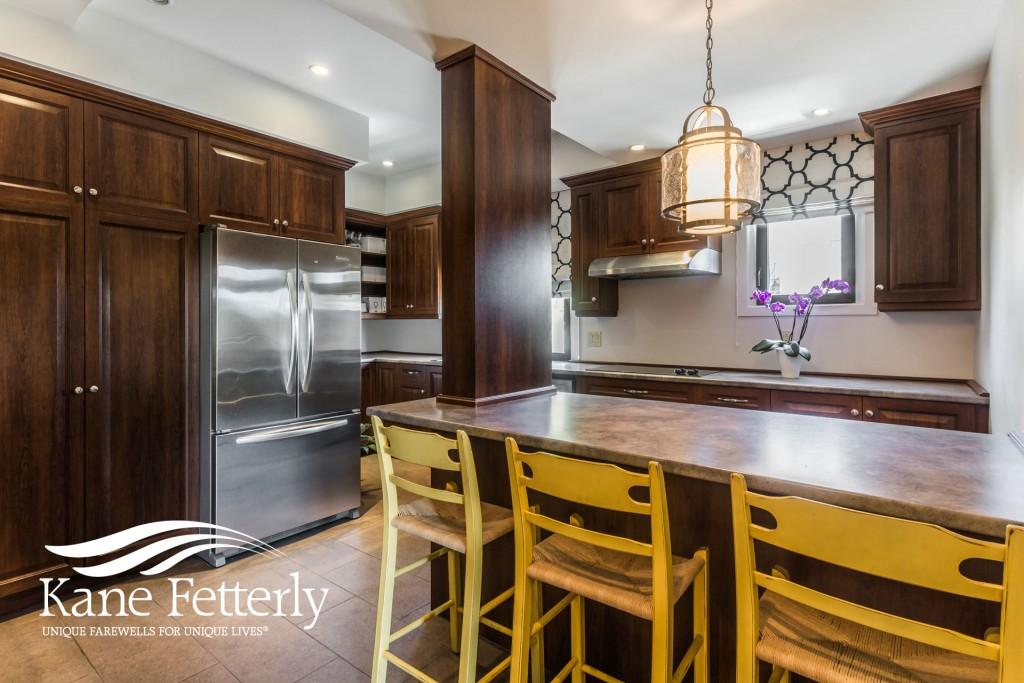 Photo of the family kitchen at Kane Fetterly