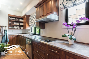 The family kitchen at the Kane & Fetterly funeral home